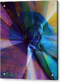 Radiating Light Acrylic Print