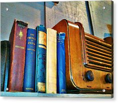 Radio Acrylic Print by Robert Smith