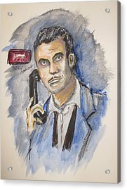 Radio's Philip Marlowe Acrylic Print by Clyde J Kell