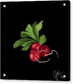 Radishes Acrylic Print