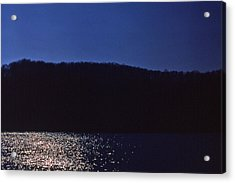 Radnor Lake Gets Dark Acrylic Print by Randy Muir