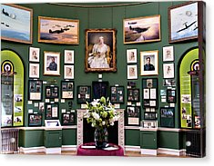 Acrylic Print featuring the photograph Raf Bentley Priory by Alan Toepfer