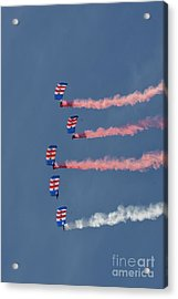 Raf Parachute Display Team Acrylic Print