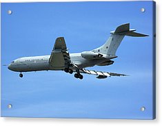 Acrylic Print featuring the photograph Raf Vickers Vc10 C1k by Tim Beach