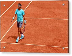 Rafa Between Points Acrylic Print