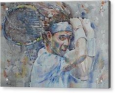 Rafa Nadal - Portrait 4 Acrylic Print