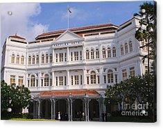 Raffles Hotel - Singapore Acrylic Print