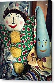Ragdoll Buddies Acrylic Print