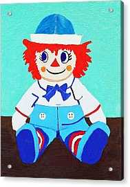 Acrylic Print featuring the painting Raggy Andy II by Margaret Harmon