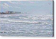 Raging Waters Acrylic Print by Deborah Benoit