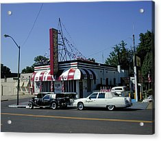 Acrylic Print featuring the photograph Raifords Disco Memphis A by Mark Czerniec