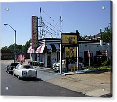 Acrylic Print featuring the photograph Raifords Disco Memphis B by Mark Czerniec