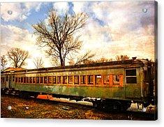 Rail Car 2 Acrylic Print by Marty Koch