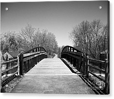 Rail Trail Bridge, Newburyport, Massachusetts Acrylic Print