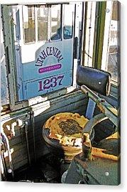 Railroad Museum 7 Acrylic Print by Steve Ohlsen