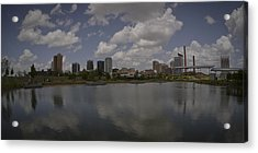 Railroad Park View Acrylic Print