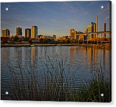 Railroad Park Twilight Acrylic Print