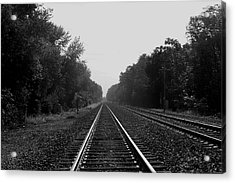 Railroad To Nowhere Acrylic Print
