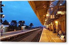 Railway Vanishing Point Acrylic Print