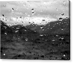 Rain And Wind Acrylic Print