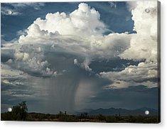 Acrylic Print featuring the photograph Rain, Beautiful Rain  by Saija Lehtonen