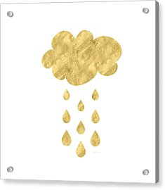 Rain Cloud- Art By Linda Woods Acrylic Print