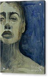 Rain Acrylic Print by Diane montana Jansson