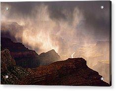 Rain Ghost Acrylic Print by Adam Schallau