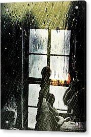 Rain In My Heart Acrylic Print