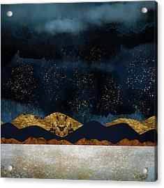 Rain Acrylic Print by Katherine Smit