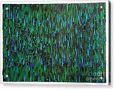 Rain Acrylic Print by Ken Falana