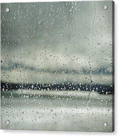Rain Layers Acrylic Print