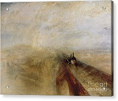 Rain Steam And Speed Acrylic Print by Joseph Mallord William Turner