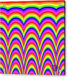 Rainbow #4 Acrylic Print