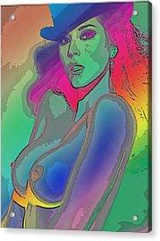 Rainbow 4 Acrylic Print by Tbone Oliver