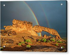 Rainbow Arch Acrylic Print