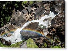 Rainbow At Vernal Falls- Acrylic Print