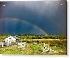 Rainbow Acrylic Print by Brian Sereda