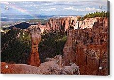 Rainbow Bryce Canyon Acrylic Print