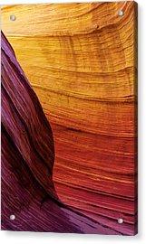Rainbow Acrylic Print by Chad Dutson