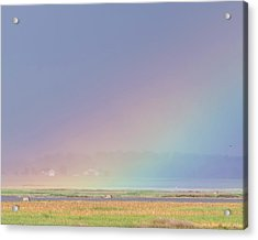 Acrylic Print featuring the photograph Rainbow Close Up by Rob Graham