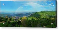 Rainbow Dream Acrylic Print