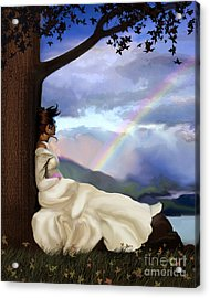 Rainbow Dreamer Acrylic Print by Robert Foster