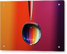 Falling Rainbow  Acrylic Print