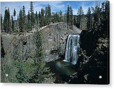 Rainbow Falls California Acrylic Print