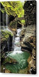Rainbow Falls Gorge Acrylic Print