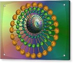 Rainbow Fractal Acrylic Print