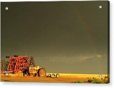 Rainbow Harvest.. Acrylic Print by Al  Swasey