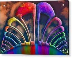 Rainbow Hill Acrylic Print