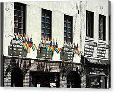 Rainbow History Acrylic Print by Dan Stone